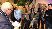 Ludovic Jolivet, maire sortant de Quimper, présente sa liste