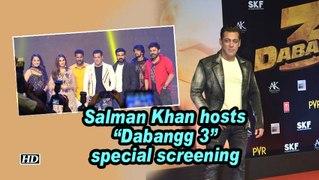 Salman Khan hosts 'Dabangg 3' special screening