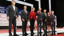 US Democratic presidential hopefuls face off in debate