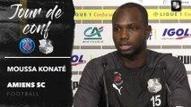 Conférence de presse d'avant Match, PSG  - ASC : Moussa Konaté