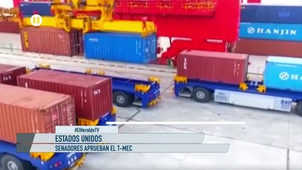 T-MEC generará hasta 589 mil empleos en EU; reportaje El Heraldo TV