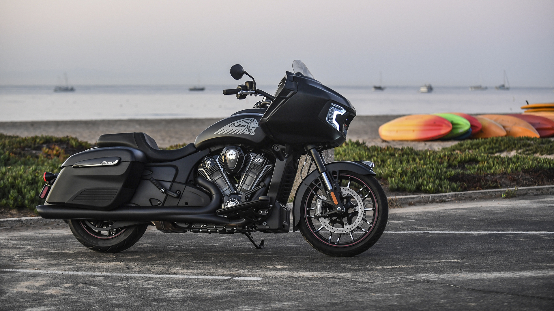 2020 Indian Motorcycle Challenger Dark Horse MC Commute Review