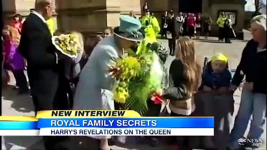 Prince Harry Dishes on The Real Queen Elizabeth, Prince Phillip