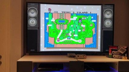 Super Mario World (Super Nes Mini) : c'est dans les vieux pots...