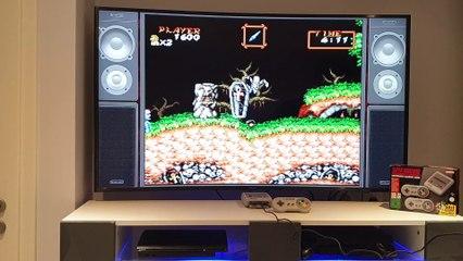 Super Nintendo Mini : et voici, Gouls'n Ghost ! [Gameplay]