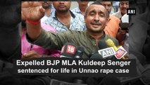 Expelled BJP MLA Kuldeep Senger sentenced for life in Unnao rape case