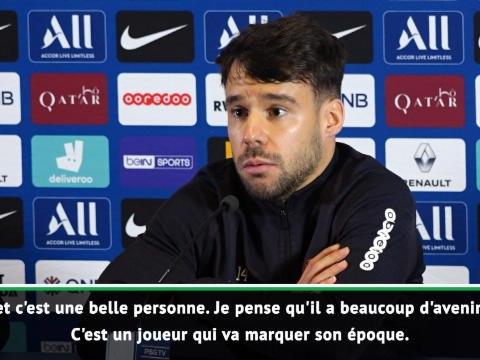 """PSG - Bernat : """"Mbappé va marquer son époque"""""""
