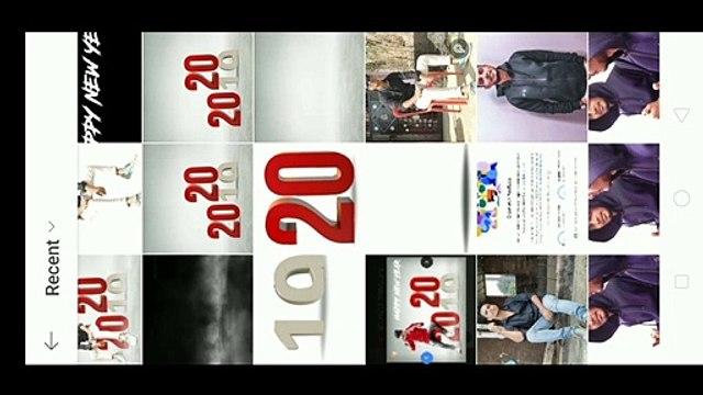 Happy New year photo editing || Picsart Hindi Tutorial video || 2020 Photo Editing