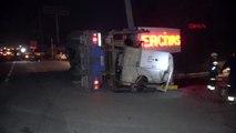 Düzce kamyonun altında kaldığı düşünülen sürücünün kaçtığı anlaşıldı