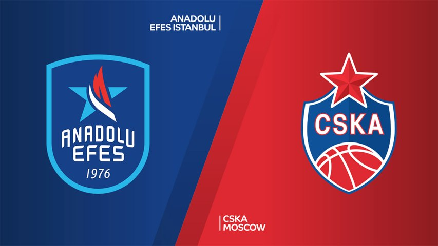 Anadolu Efes Istanbul - CSKA Moscow Highlights | Turkish Airlines EuroLeague, RS Round 15