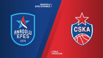 EuroLeague 2019-20 Highlights Regular Season Round 15 video: Efes 80-81 CSKA