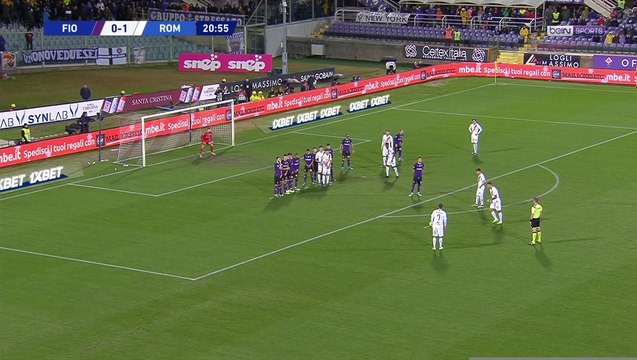 Serie A : Le coup franc sublime de Kolarov