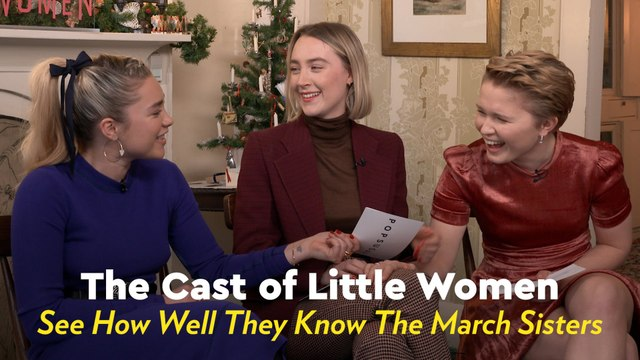 Play Along as We Quiz the Little Women Cast on How Well They Know the March Sisters