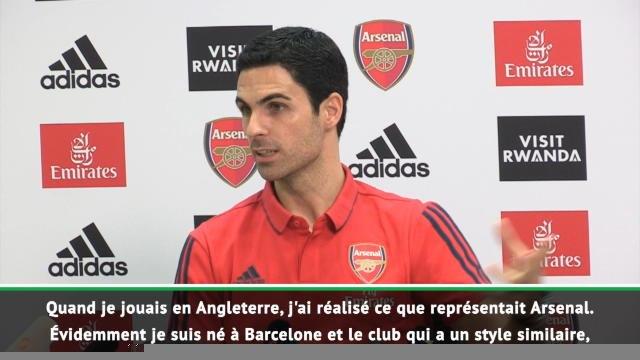 18e j. - Arteta rend hommage à Arsène Wenger