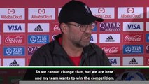 Flamengo came to win, Liverpool were told to stay at home for the cup- Klopp