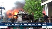 Belasan Rumah di Makassar Hangus Terbakar