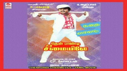 Tamil Superhit Movie|Thenpandi Seemayile|Vijayakanth|Radhika