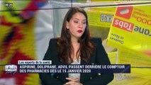 Aspirine, doliprane, advil passent derrière le comptoir des pharmacies dès le 15 janvier 2020 - 21/12