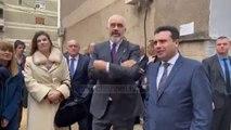 Vizitë në Durrës pas tërmetit/ Rama dhe liderët ballkanikë shikojnë nga afër dëmet