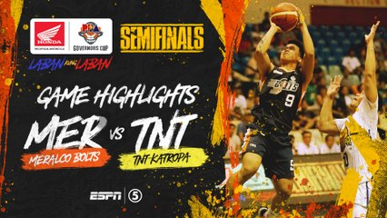 Highlights: G4: Meralco vs TNT | PBA Governors' Cup 2019 Semifinals