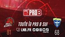 PRO B : Lille vs Saint-Quentin (J11)