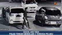 Polisi Kejar Pencuri Berpistol di Rest Area Tol Saradan