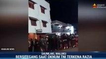 Razia Lalu Lintas Berujung Bentrok Antara TNI dan Polri di Maluku