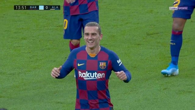 FC Barcelone : Griezmann, plat du pied sécurité !