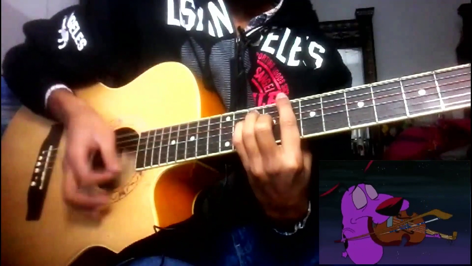 Courage the Cowardly Dog Theme – Guitar Cover – By Shahrukh Zafar