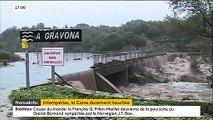 Tempête Fabien : Découvrez les images impressionnantes de la région d'Ajaccio fortement touchée, des maisons et des routes inondées
