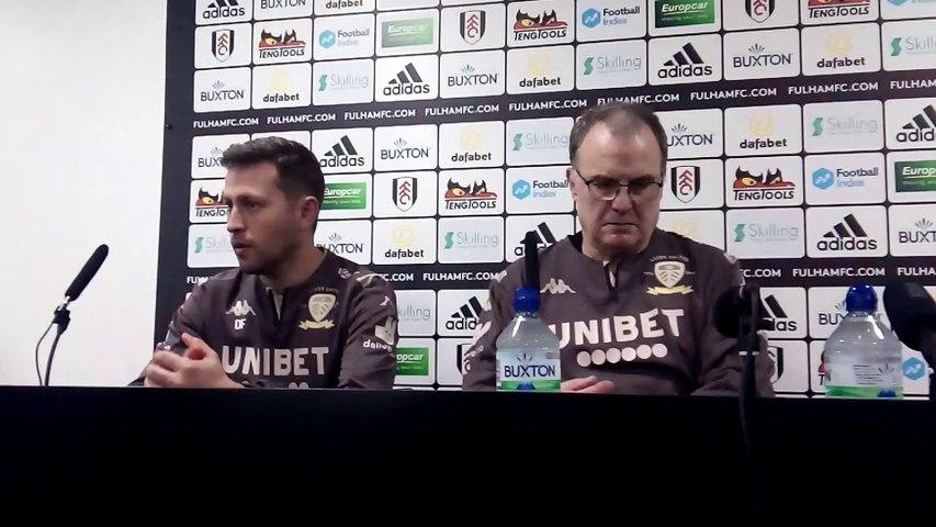 Marcelo Bielsa post-Fulham