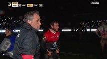 Une coupure de courant interrompt le match entre Agen et Toulouse