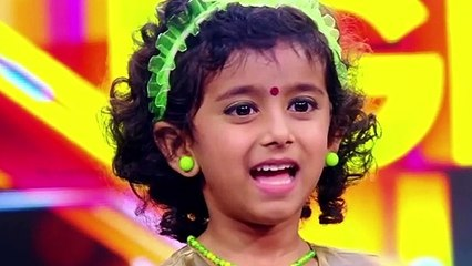 Flowers Top Singer Ananya Funny Face Expressions 2019