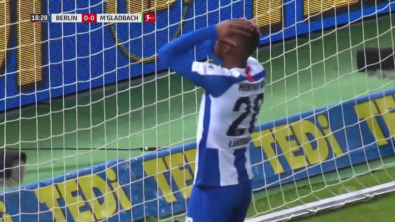 Hertha Berlin – B. Mönchengladbach (0-0) - Maç Özeti - Bundesliga 2019/20