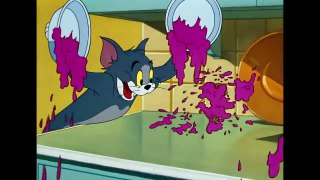 Tom & Jerry - The Dangerous White Mouse - Classic Cartoon