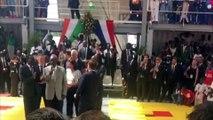 Daniel Kablan Duncan chante pour Emmanuel Macron