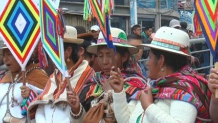 Entre rituales y ofrendas los sabios aimaras reciben el solsticio austral
