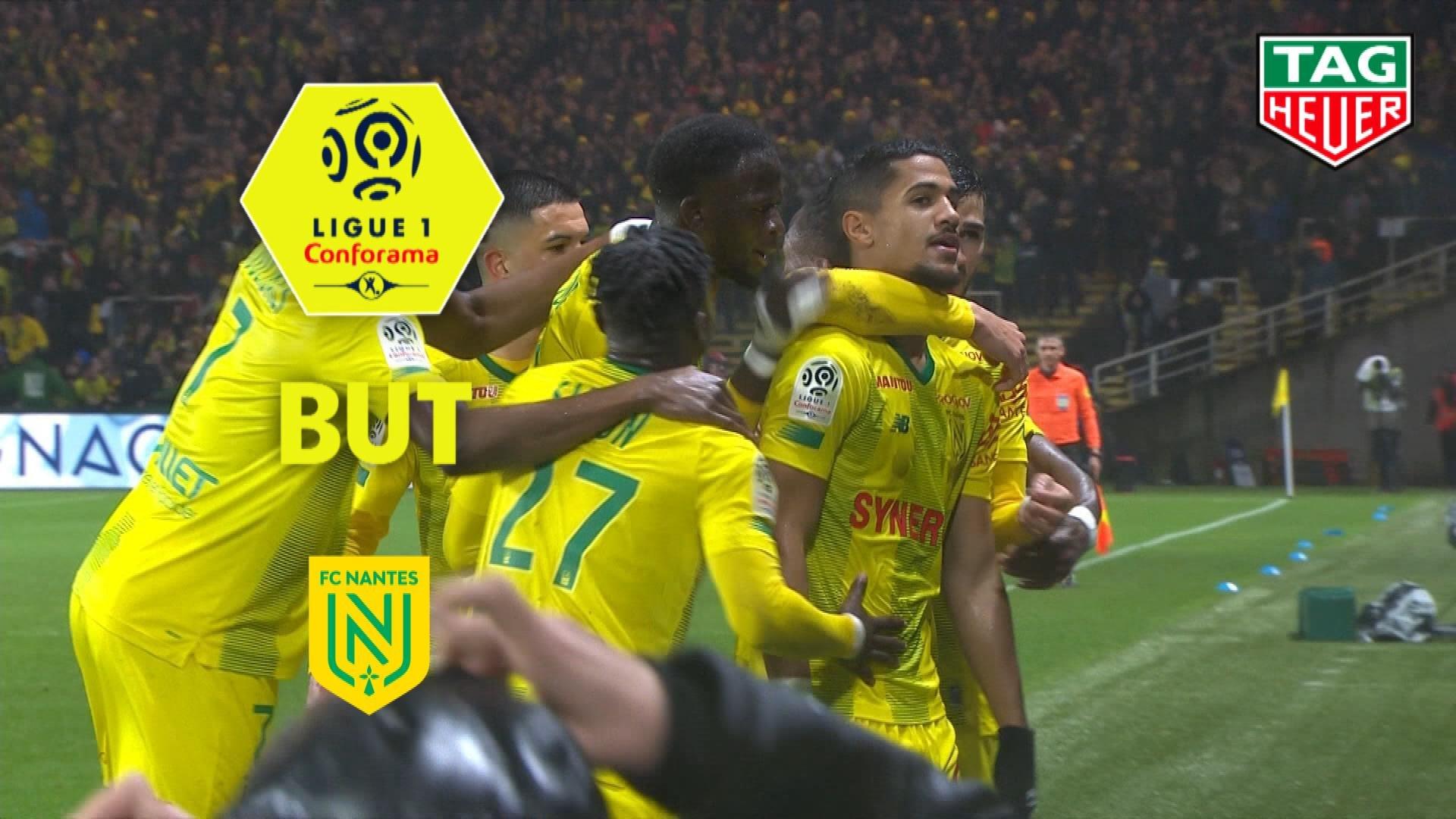 But Ludovic BLAS (17ème) / FC Nantes - Angers SCO - (1-2) - (FCN-SCO) / 2019-20