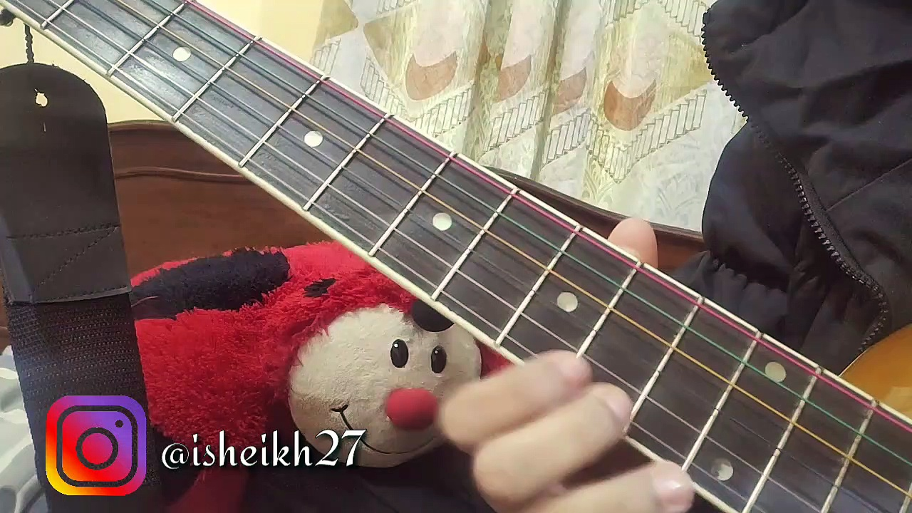Jingle bells Single String Easy Guitar Tabs Tutorial – Lesson — Hindi-Urdu — Easy Christmas Song