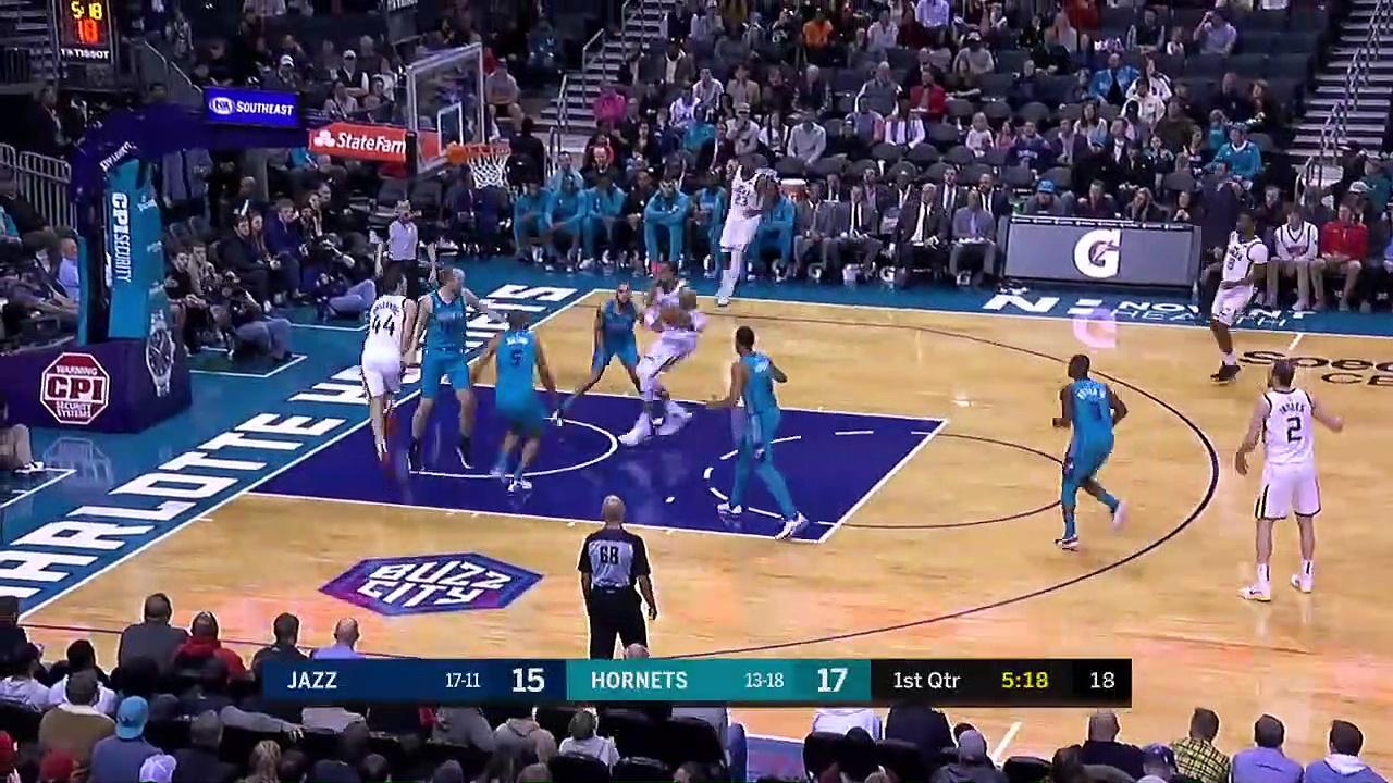 Utah Jazz 114 - 107 Charlotte Hornets