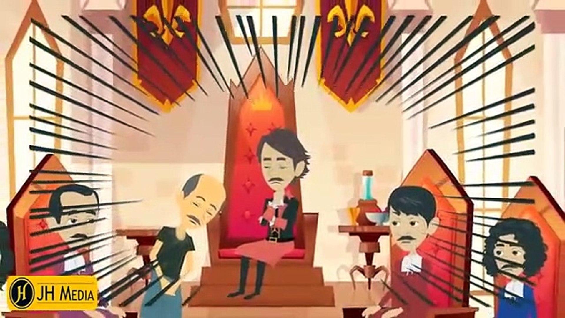 Goat & Two Village Story-Urdu Cartoon - Urdu Stories