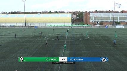 Croix 1-2 Bastia : Le résumé