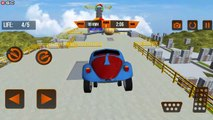 "Vertical Mega Ramp Impossible Car Stunts ""LV1 4"" Extreme Car Stunt Car Driver Android GamePlay"