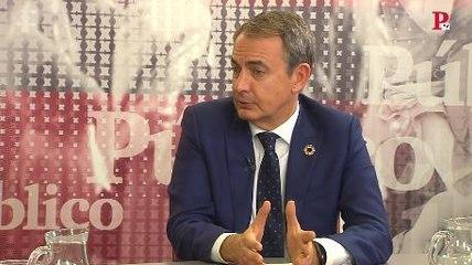 """Zapatero: """"Debe caer sobre Billy el Niño todo el peso de la justicia"""""""