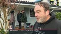 Intempéries : la tempête Fabien met la France sens dessus dessous