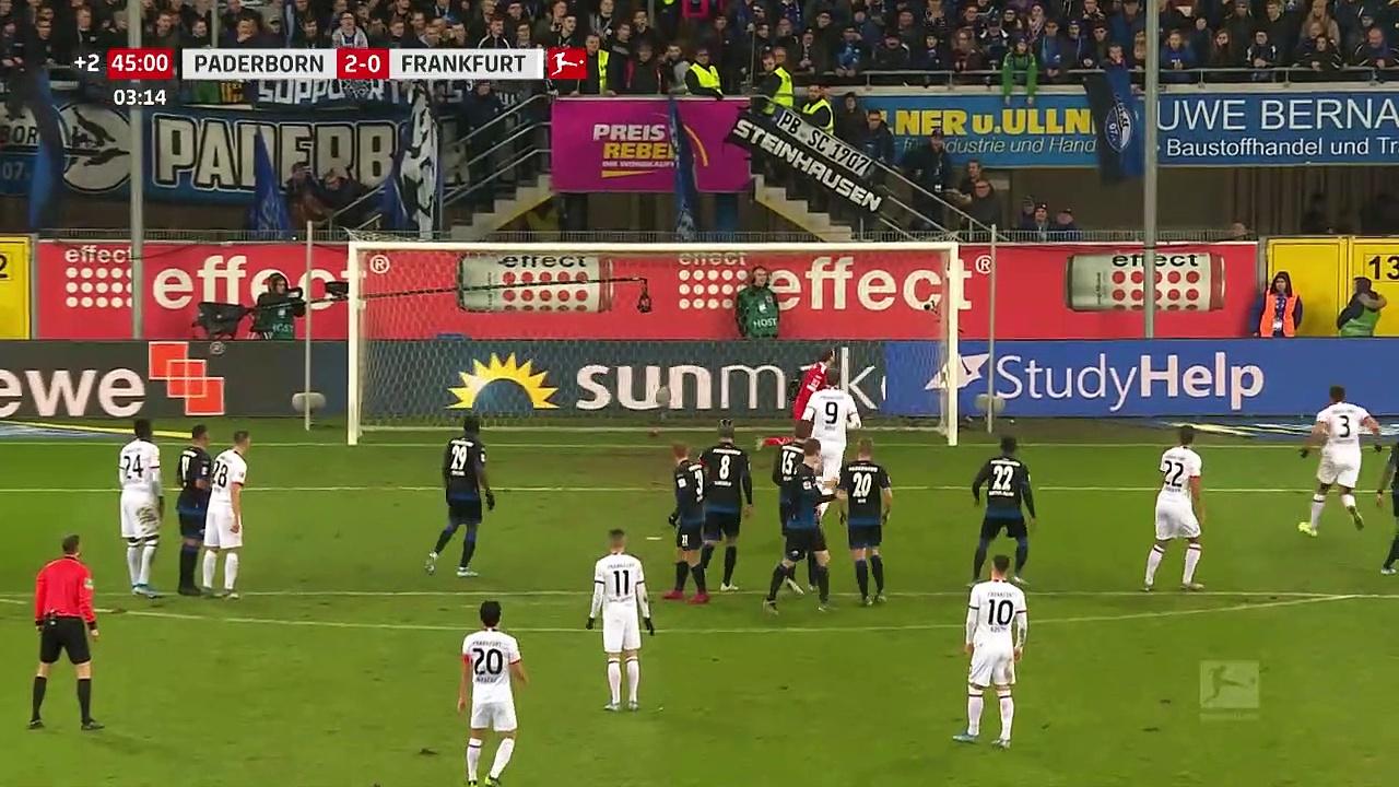 Paderborn - Eintracht Frankfurt (2-1) - Maç Özeti - Bundesliga 2019/20