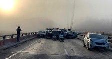 ABD'deki zincirleme kazada en az 50 kişi yaralandı