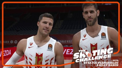 Shooting Challenge: Stratos Perperoglou & Billy Baron, Crvena Zvezda mts Belgrade