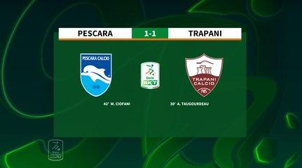 HIGHLIGHTS #PescaraTrapani 1-1 #SerieBKT