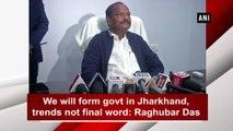 We will form govt in Jharkhand, trends not final word: Raghubar Das